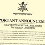 VFC ställer in medverkan på IWA 2020