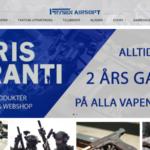 Butiken Frysen Airsoft har lanserat ny webshop