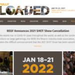 Mässan SHOT Show 2021 är inställd