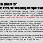 G&G Armament flyttar alla tävlingar till 2022